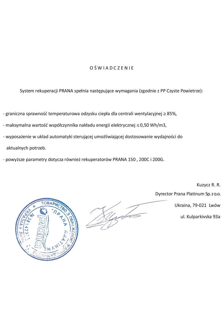 Oświadczenie-PRANA-2 A